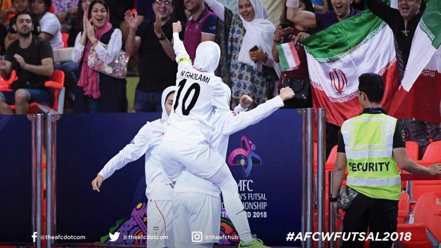 تیم ملی فوتسال بانوان ایران بار دیگر قهرمان آسیا شد