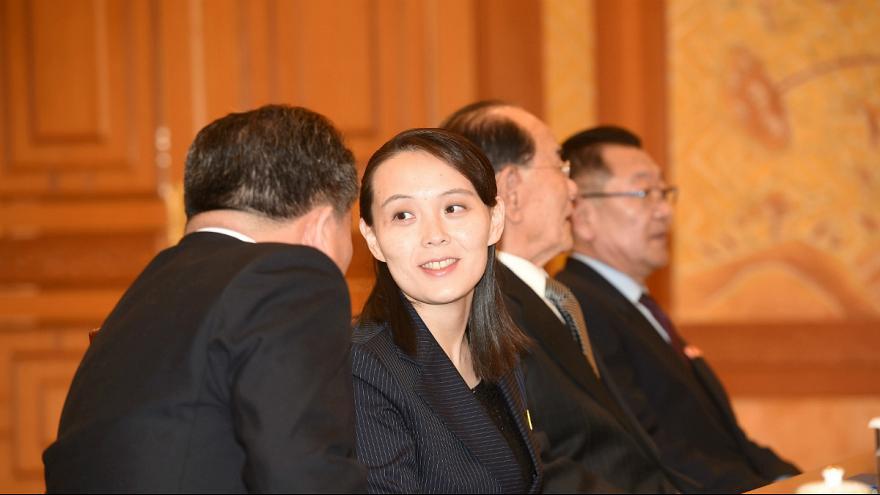 خواهر رهبر کره شمالی دعوت «اون» را به «این» رساند