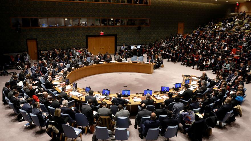 برگزاری جلسه شورای امنیت سازمان ملل متحد درباره اعتراضات اخیر در ایران