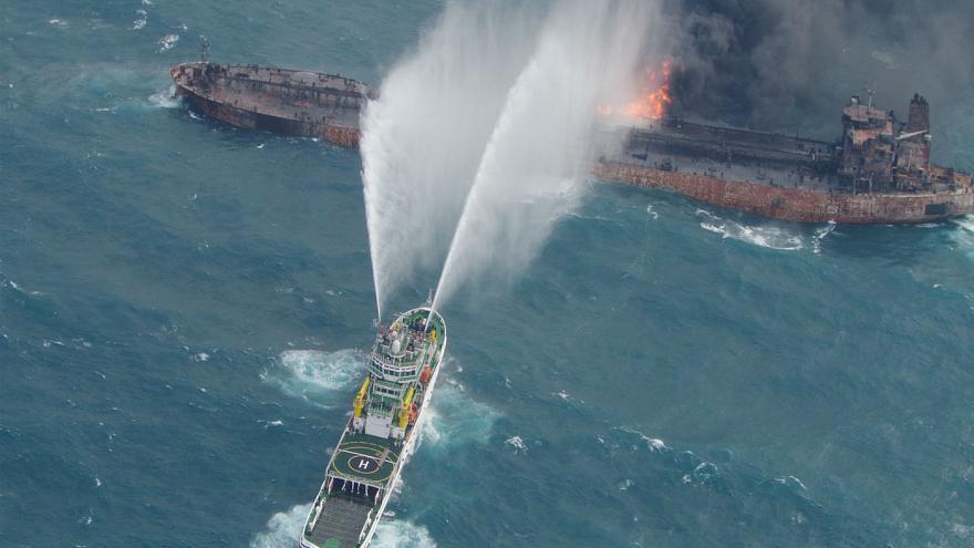 نفتکش سانچی، بزرگترین فاجعه زیست محیطی دریایی ۲۵ سال گذشته
