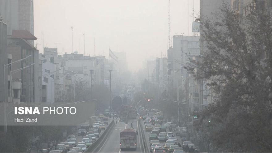 آلودگی هوا سال گذشته جان ۲۵ هزار ایرانی را گرفت