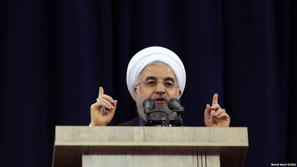 کنایه روحانی به رقبای انتخاباتی: دم از آزادی نزنید که آزادی خجالت میکشد