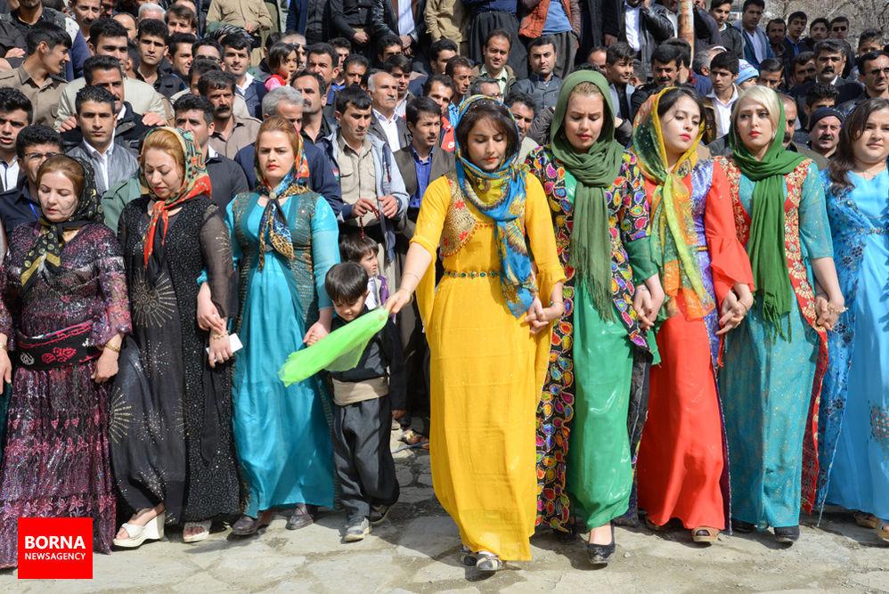 گزارش تصویری جشن نوروز در روستای شیان سنندج