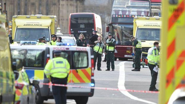 حمله لندن، پنج کشته و بیش از ۴۰ زخمی