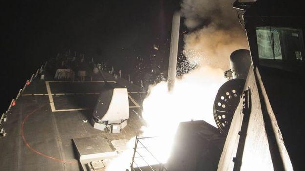 حمله موشکی آمریکا به سوریه «تلفاتی داشته است»
