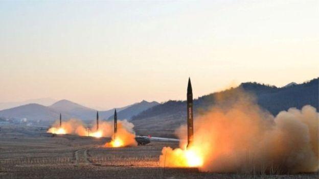 کره شمالی: حمله موشکی آمریکا به سوریه درستی انتخاب هسته ای ما را ثابت کرد