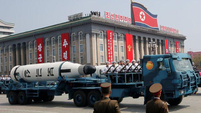 آمریکا و چین برای مقابله با کره شمالی همکاری میکنند