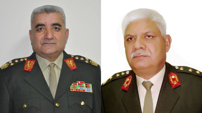وزیر دفاع و رئیس ستاد ارتش افغانستان استعفا دادند