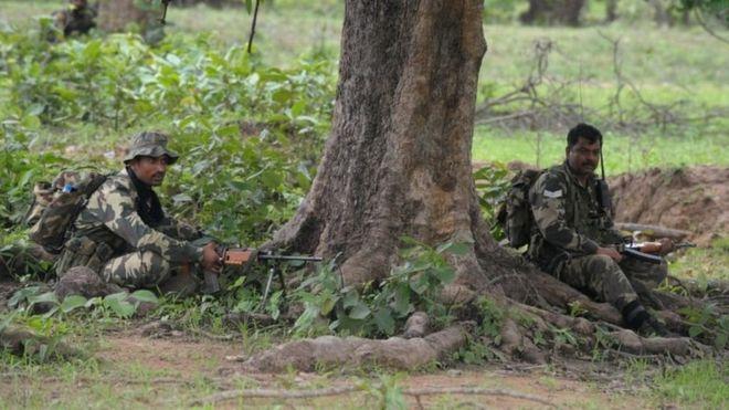 ۲۴ پلیس در هند «در حمله مائویستها کشته شدند»