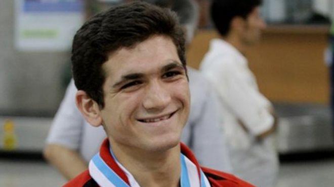 رضا علیپور قهرمان جام جهانی سنگنوردی سرعت شد