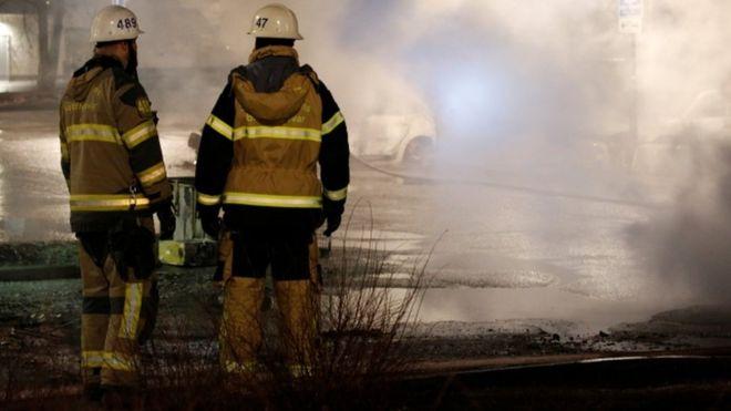 پلیس سوئد تحقیق درباره آتشسوزی در بزرگترین مسجد شیعیان را آغاز کرد