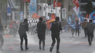 بیش از 200 نفر در تظاهرات روز کارگر در استانبول بازداشت شدند