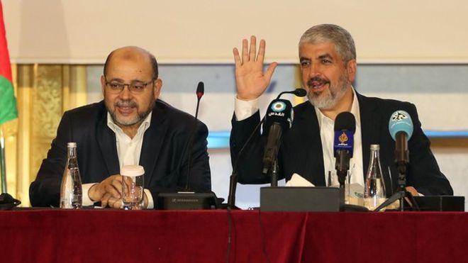 حماس مرزهای ۱۹۶۷ را به رسمیت شمرد