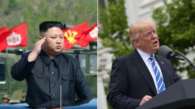 ترامپ: با رهبر کره شمالی دیدار خواهم کرد
