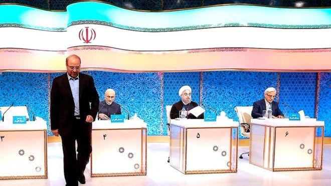 دومین مناظره؛ حمله قالیباف و میرسلیم به دولت روحانی