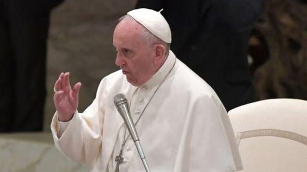 انتقاد شدید پاپ فرانسیس از نام «مادر همه بمبها»