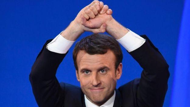 امانوئل مکرون رییس جمهور فرانسه شد