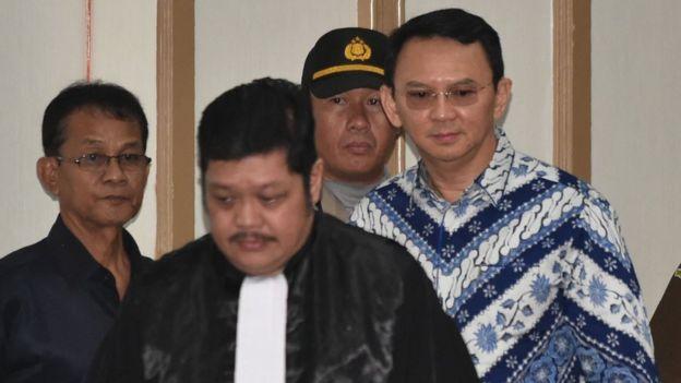 فرماندار سابق پایتخت اندونزی به جرم «کفرگویی» زندانی شد