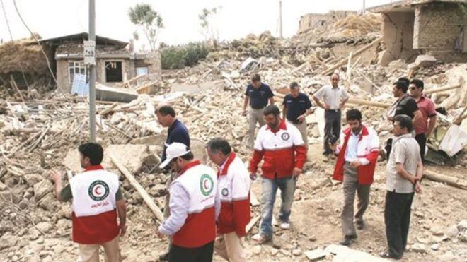 زلزله بجنورد دو کشته و دهها تن مجروح داد