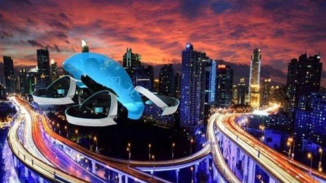 تویوتا در ساخت «خودروی پرنده» سرمایهگذاری میکند