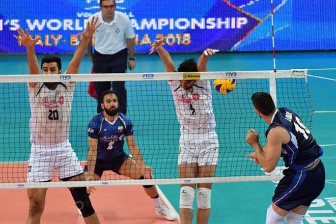 شکست ایران مقابل ایتالیا در اولین بازی لیگ جهانی والیبال