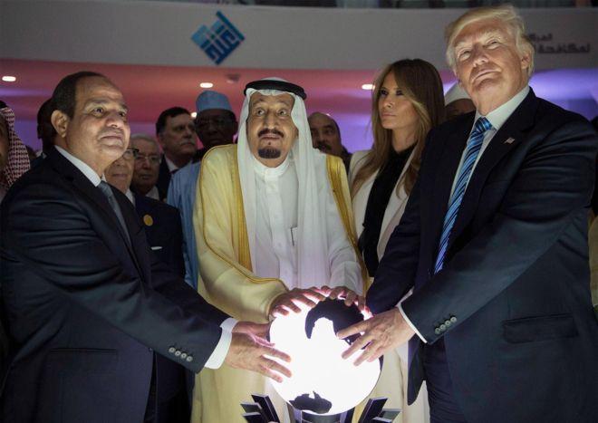 ترامپ قطع روابط کشورهای عربی با قطر را نتیجه سفر خود دانست