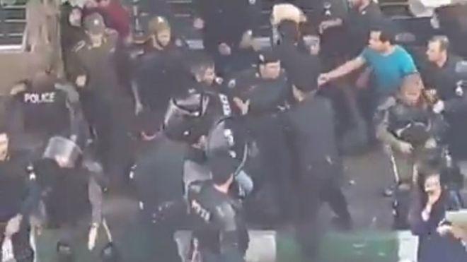 رئیس پلیس تهران: ماموران به صورت خودسرانه با معترضان موسسه ثامن برخورد کردند