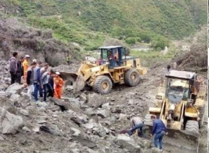 رانش زمین در چین: دستکم 100 نفر مفقود شدند