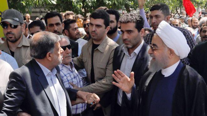 دادستان تهران: شعارها علیه روحانی را «جرم مشهود» خواند
