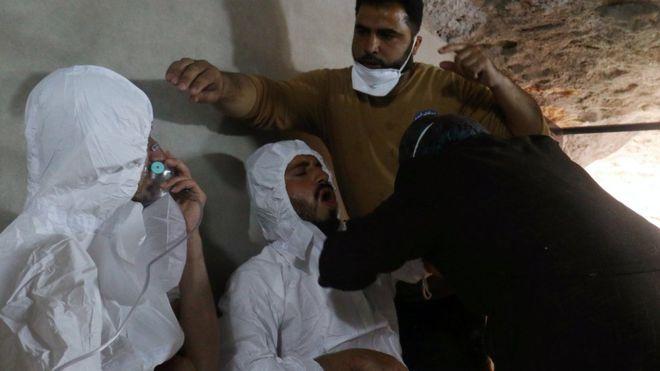 هشدار آمریکا به سوریه علیه در خصوص «حمله شیمیایی»