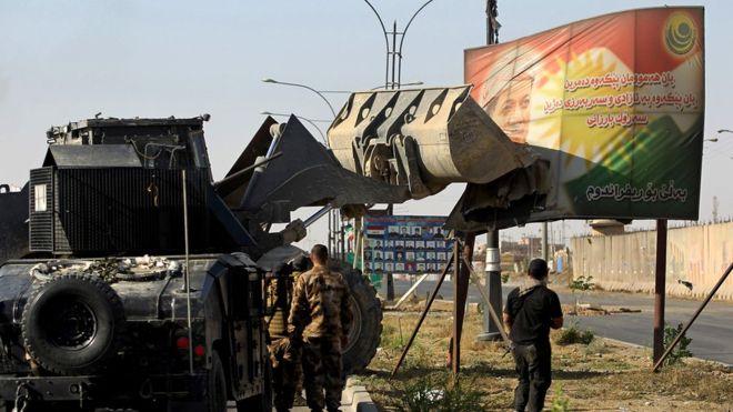 نیروهای دولتی عراق وارد مرکز کرکوک شدند