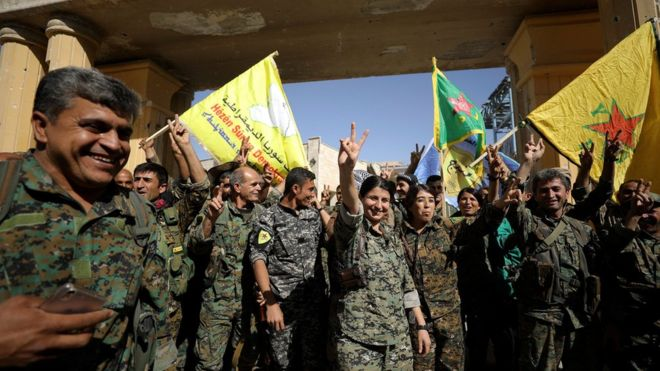 آخرین مقاومت داعش در رقه در هم شکست