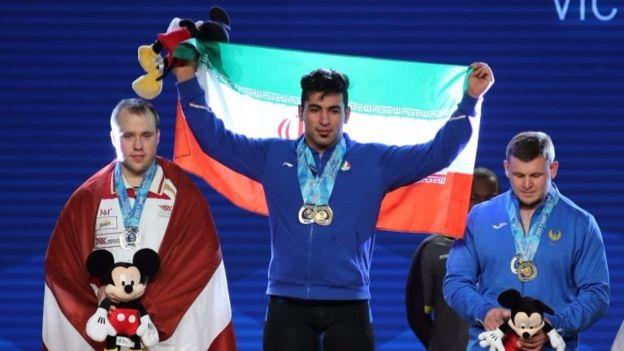 تیم وزنهبرداری ایران در مسابقات جهانی اول شد