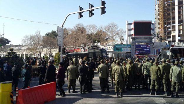 حمایت رئیس جمهور آمریکا از اعتراضات در شهرهای ایران