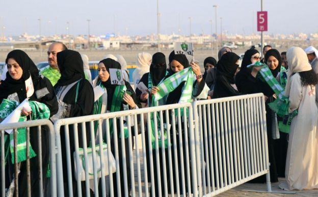 روز تاریخی زنان عربستان؛ آنها وارد استادیوم شدند