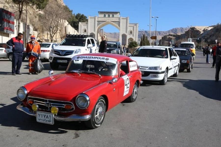 مسابقات رالی در شیراز برگزار شد