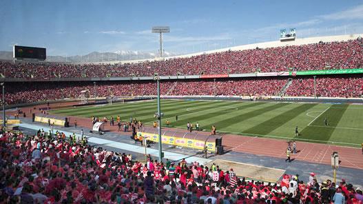 جلوگیری از ورود هشت دختر به ورزشگاه آزادی برای تماشای داربی تهران