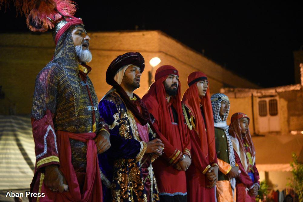 آلبوم عکس؛ مراسم «تعزیه» و «سنج و دمام» در شیراز