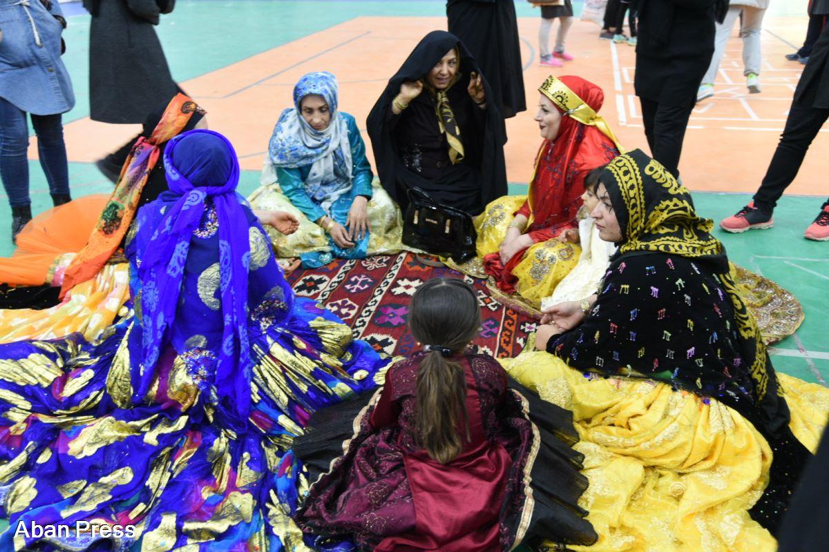 آلبوم عکس؛ جشنواره مسابقات بومی و محلی زنان در شیراز