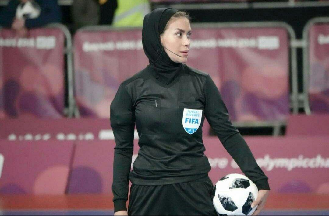 داور زن ایرانی در فینال جام باشگاههای فوتسال مردان جهان سوت میزند