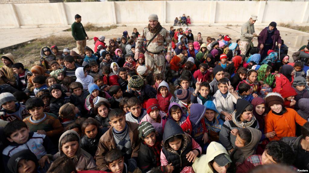 یونیسف: پنج میلیون کودک عراقی به کمک فوری نیاز دارند