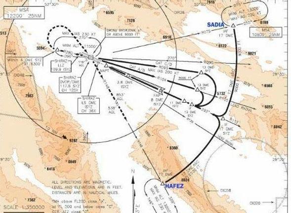 نام حافظ و سعدی روی نقشههای هوایی جهان ثبت شد