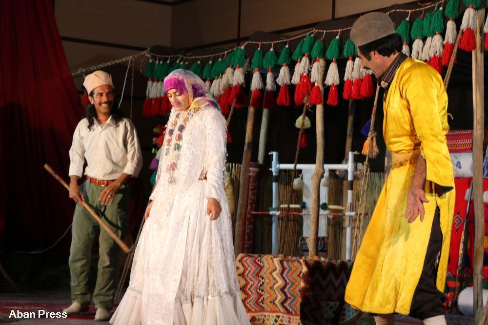 آلبوم عکس؛ قره چادیر گلینی، اولین نمایش در ایران بهزبان ترکی قشقایی