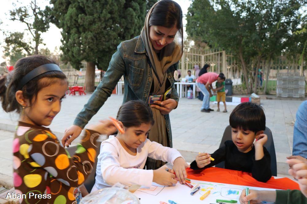 آلبوم عکس؛ برنامه آشنایی کودکان شیرازی با محیط زیست