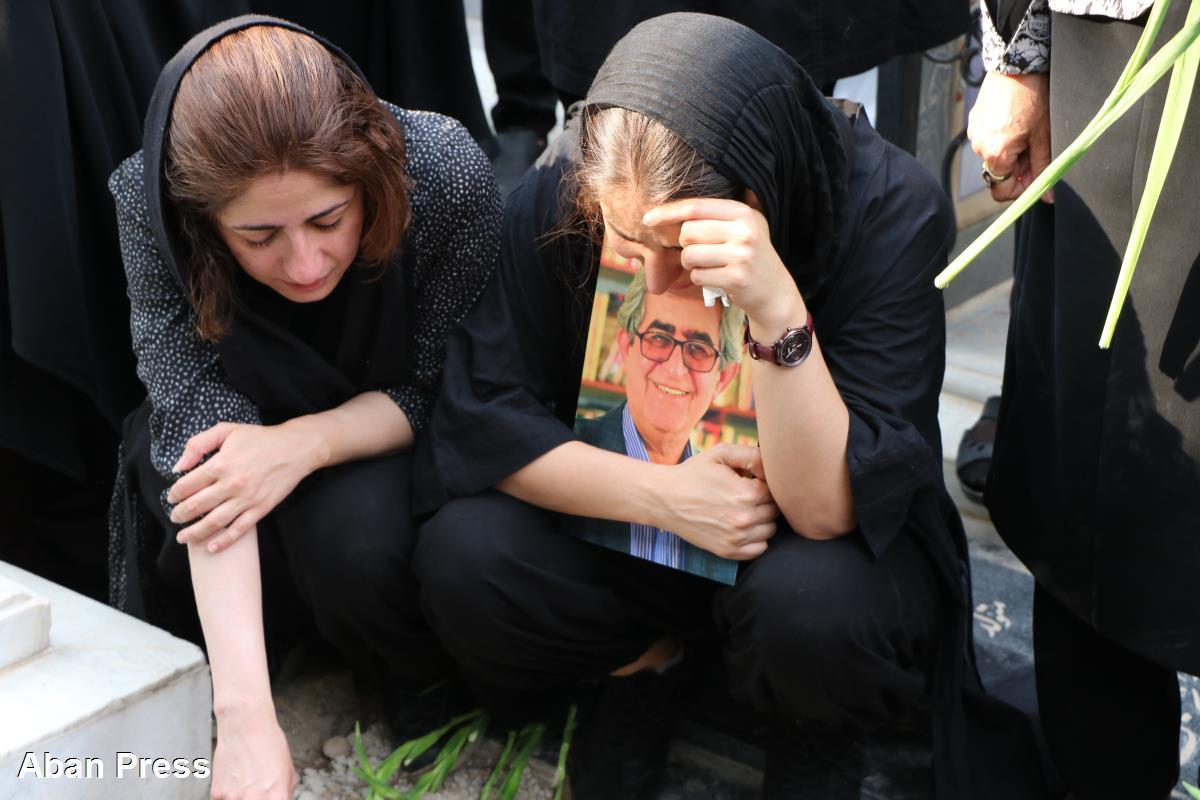 آلبوم عکس؛ آیین خاکسپاری غلامحسین امامی در شیراز