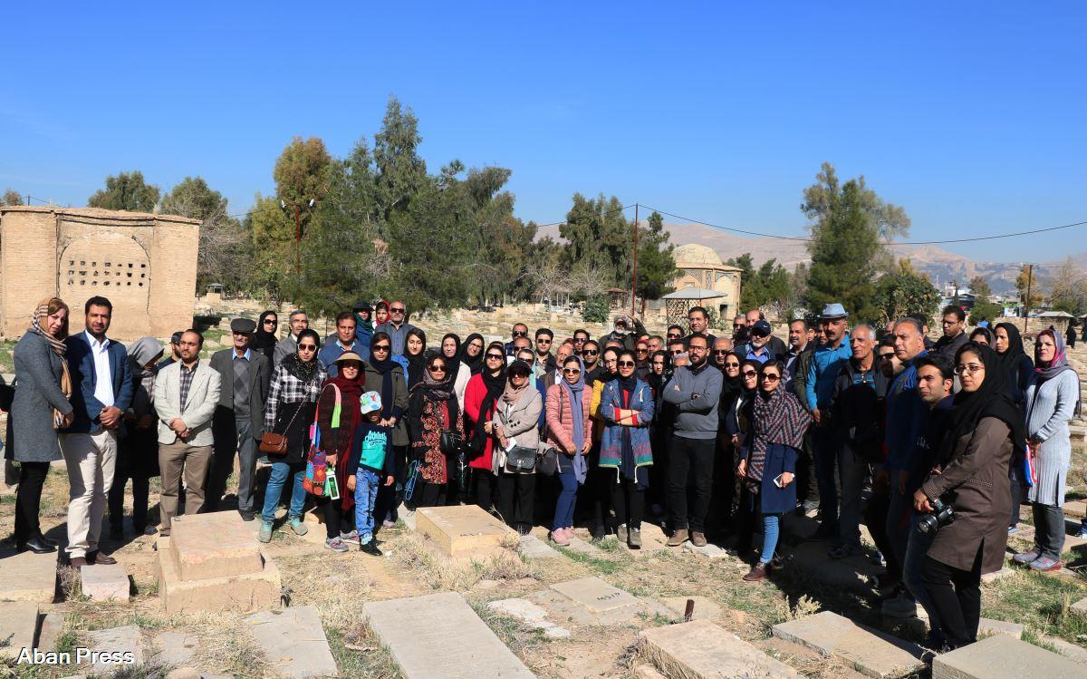 آلبوم عکس؛ بازدید از گورستان تاریخی درب سلم شیراز