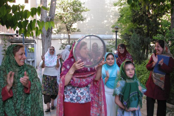 جشن تیرگان از سوی زرتشتیان شیراز برگزار شد