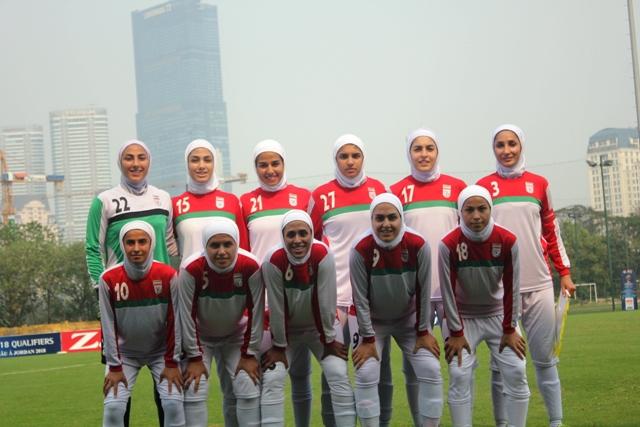 کارنامه تیم ملى فوتبال زنان ایران در مقدماتى جام ملتهاى آسیا