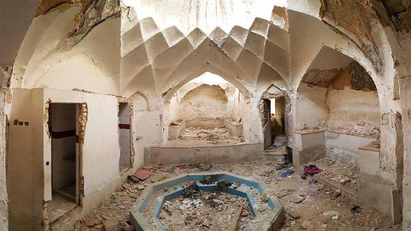 گرمابه تاریخی «شیخ جنید» شیراز در آستانه تخریب است