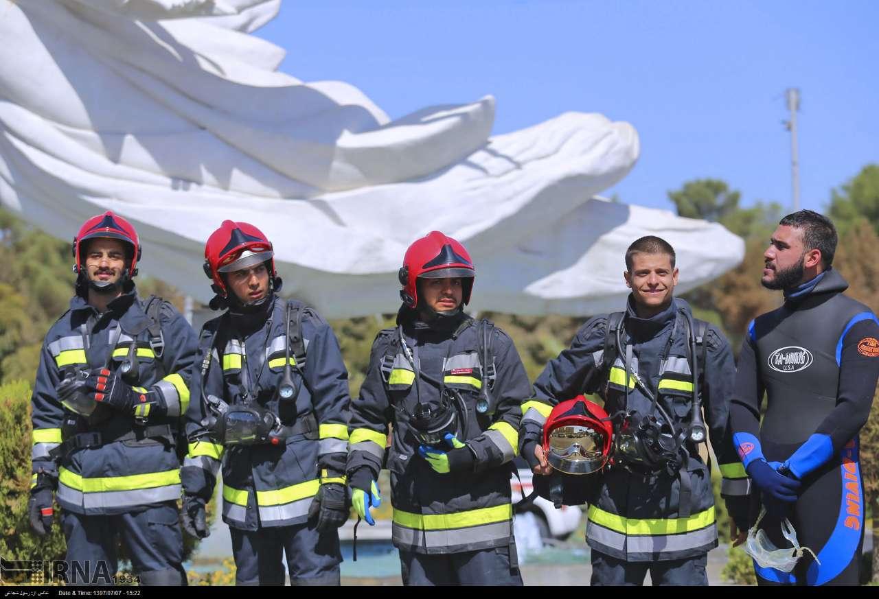 آزمون استخدامی جذب آتشنشان در فارس ۱۸ مرداد برگزار میشود